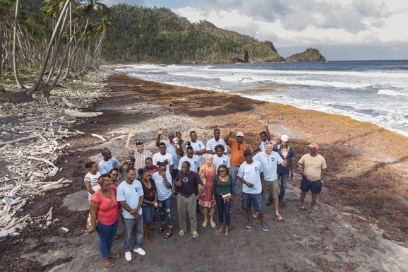 Schildkörte, Dominica, Karibische Inseln, Karibik