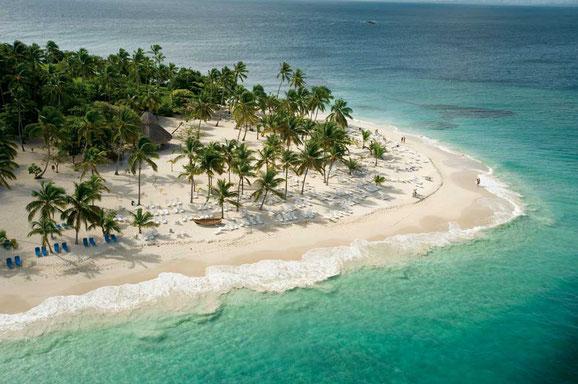 Cayo Levantado, Dominkanische Republik, Karibische Inseln, Karibik