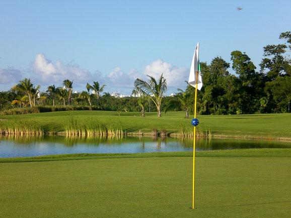 Golf, Punta Blanca, Dominikanische Republik, Karibische Inseln, Karibik