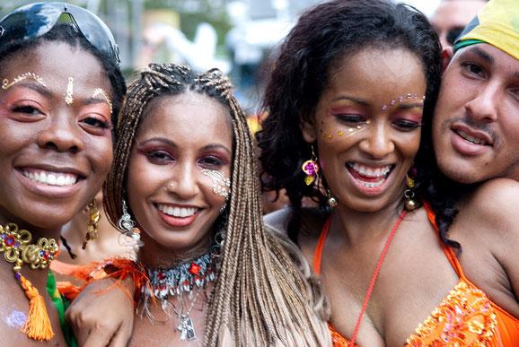 Port of Spain Karneval Trinidad Tobago, Karibik, Karibische Inseln