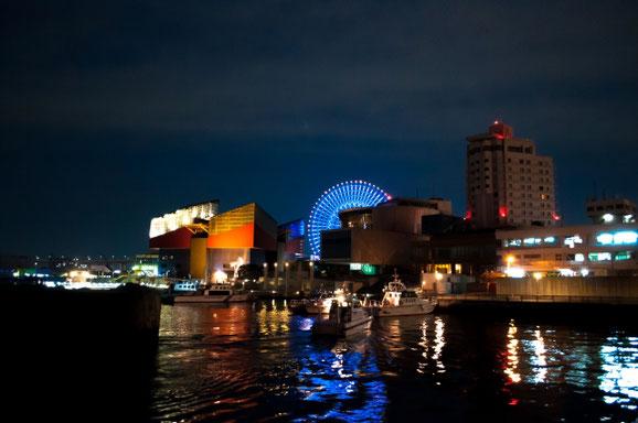 大阪港の夜景 (Kissyさん)