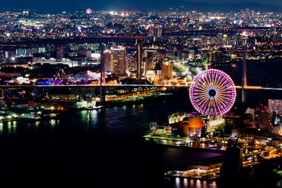 大阪の夜景 (梅干し太郎さん)