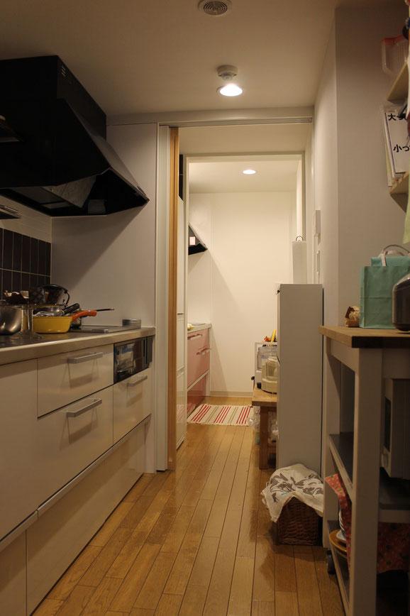 2つのキッチン