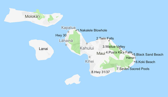 hawaii-maui-map-route
