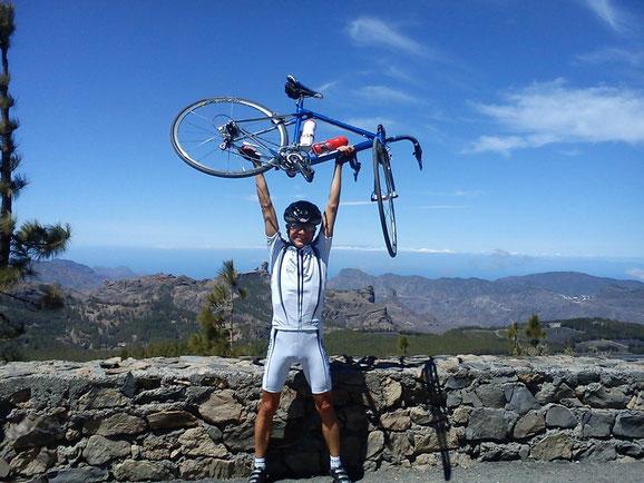 Auf dem Pico de las Nieves.....