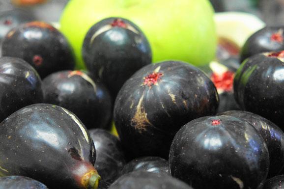 ヌアール・ド・カロン、ビオレ・ソリエス、クッキングアップルの青リンゴ「ブラムリー」