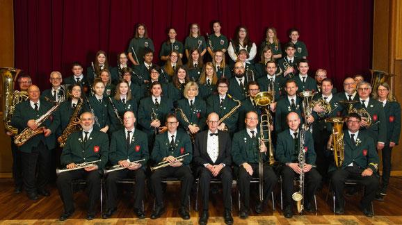 Musikverein Birgden im Frühjahr 2019