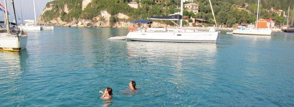 Flottieljezeilen in Griekenland vanuit Lefkas en Corfu