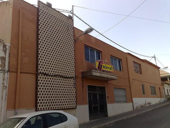 ANTIGUA FABRICA DE GUISVAL EN IBI (ALICANTE).
