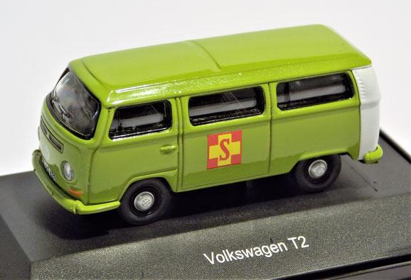 Volkswagen T2, Bus, Schuco 1:87