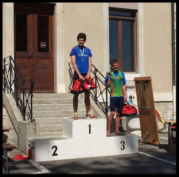 3e place pour Loïc