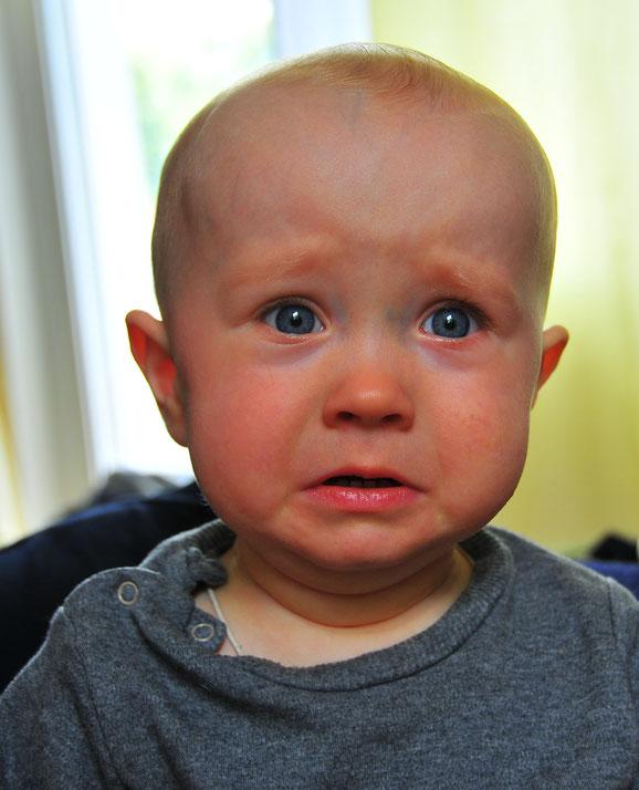 Schnelles Schnappschuss Weinendes Kind