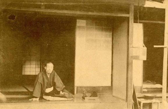 伊予松山 正宗禅寺境内 子規堂 (絵葉書)