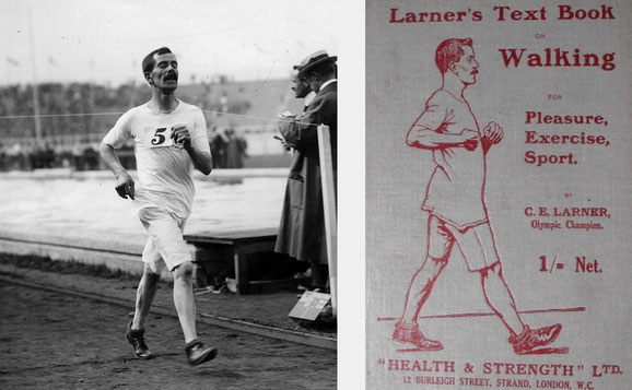 George Larner y su libro Walking: Pleasure, Exercise, Sport