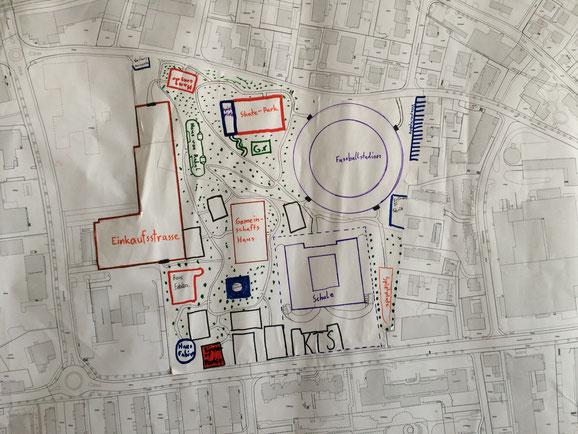 So sehen Schüler des Schulhauses Lachen ihre zukünftige Stadt...