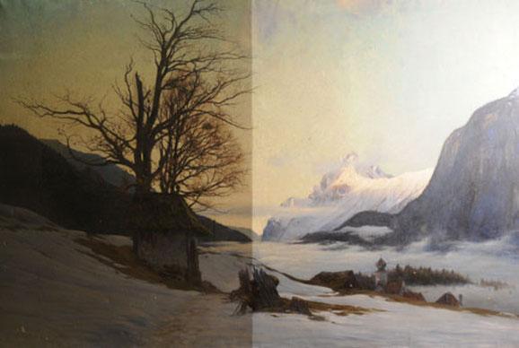 Restaurierung von Bildern und Rahmen - Restaurator Gregor Eder Wien ...