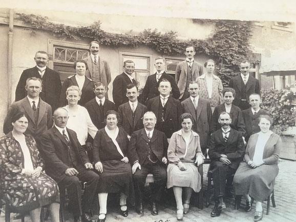 1928: Jahrgangtreffen Katharina zum 40.