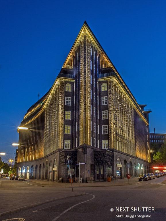 Hamburg, Kontorhausviertel,  Chilehaus, Weltkulturerbe,