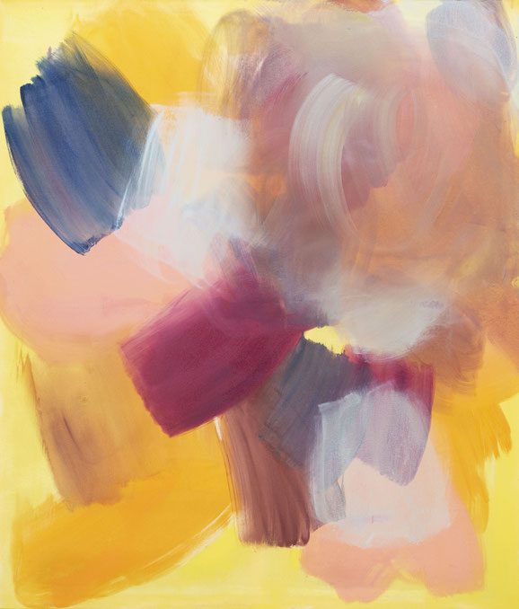 o.T, 2020, Öl auf Leinwand, 180x 155 cm