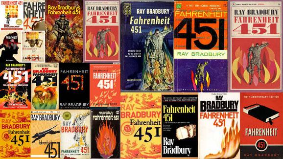 """Portades de """"Fahrenehit 451"""""""