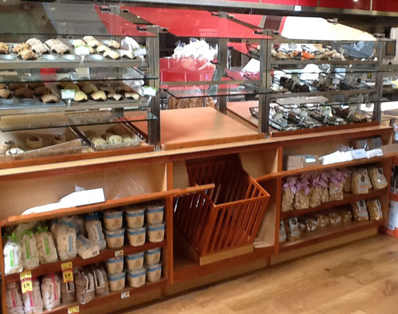 Bakery Display, Self Serve Pastry Fixture