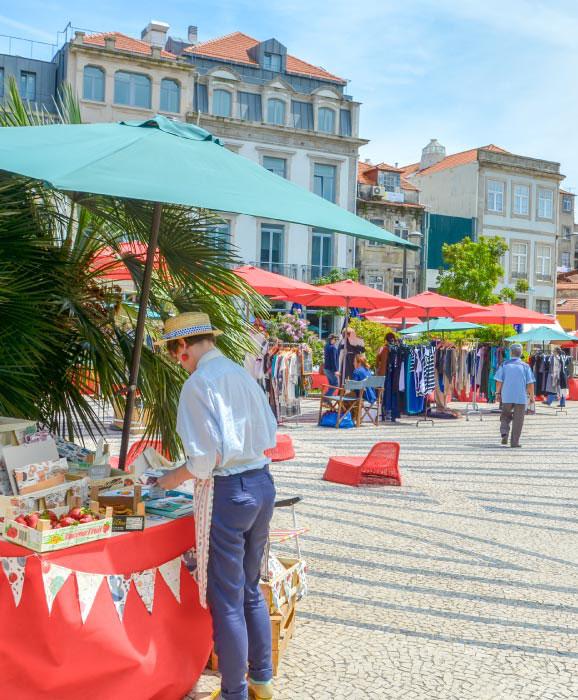 Mercado Porto Belo Market Praça de Carlos Alberto