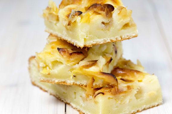 Steamhaus - Rezept für Kombi-Steamer und Dampfgarer: Apfelblechkuchen.