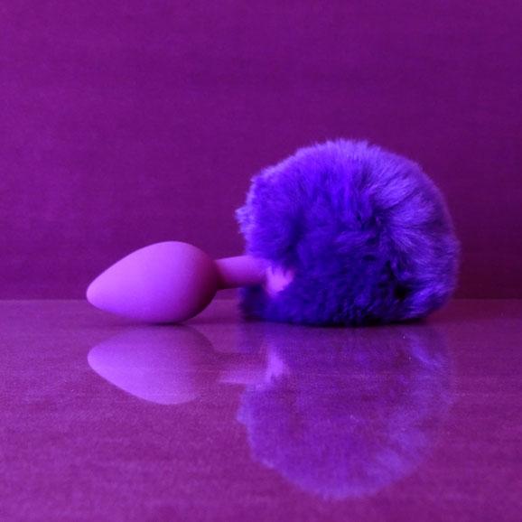 butt plug bunny plug bunny buttplug purple bunny plug purple bunny tail plug ass plug silicone anal plug purple tail plug buttplug met paarse konijnenstaart buttplug paars konijn paars konijnenstaartje buttplug anaal plug konijn staartplug staart paars