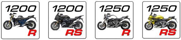 BMW R 1250 R, BMW R 1250 R, BMW R 1200 RS, BMW R 1250 RS