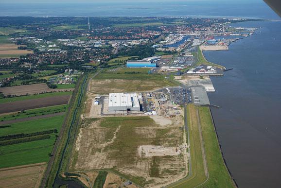 Deutsches Offshore -Industrie-Zentrum Cuxhaven - 2018