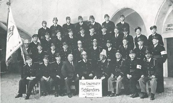 Gruppenfoto 1952