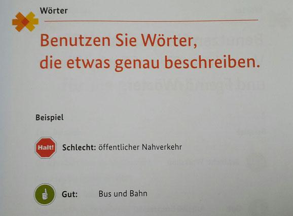 """Leichte Sprache"" www.bmas.de"