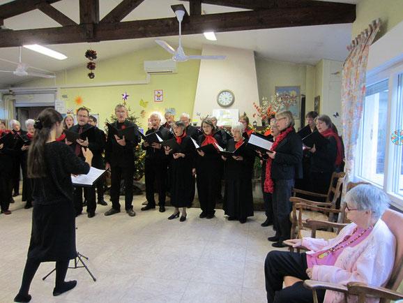 Consonance chante Noël à la Maison des Anciens de Pontcharra - samedi 16 décembre 2017