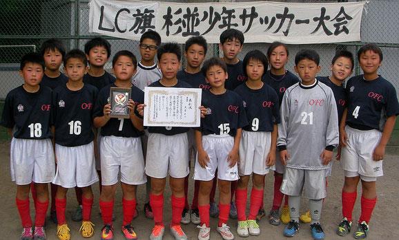 準優勝 大宮FC