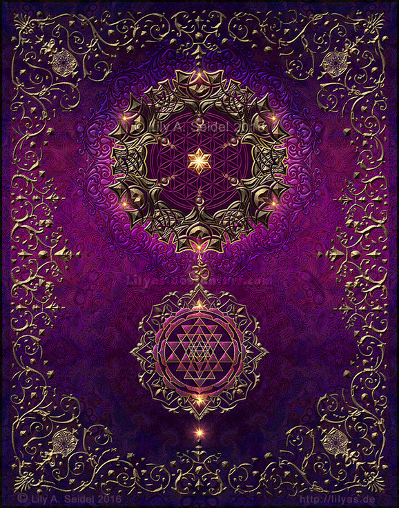 """""""Cosmic Love"""" - Available - Bookcover for sagas and fairytales"""