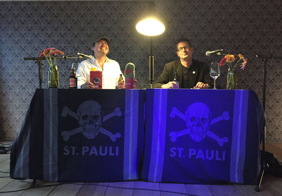 Lars Gebhardt Autorenlesung mit Joachim Seidel, Superbude Hamburg-St. Pauli 15.09.2015