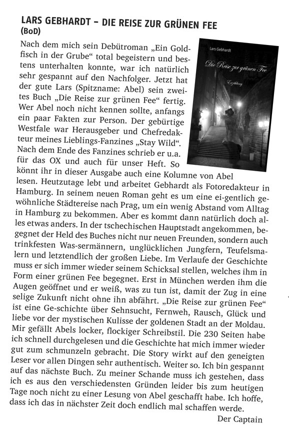 Die Reise zur grünen Fee - Mind the Gap Fanzine