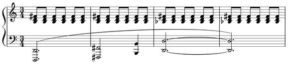 partition musique croches thème