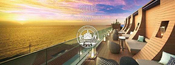 Posillipo cucina meridionale 1st ANNIVERSARY Web flyer