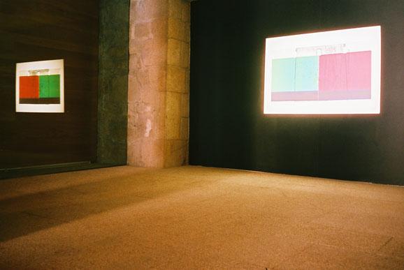 Installation View - Exhibition: DISSOLUTION FILM PORTRAITS, Solar Gallery, Vila do Conde, Portugal