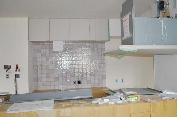 キッチンをオシャレな空間にするタイル