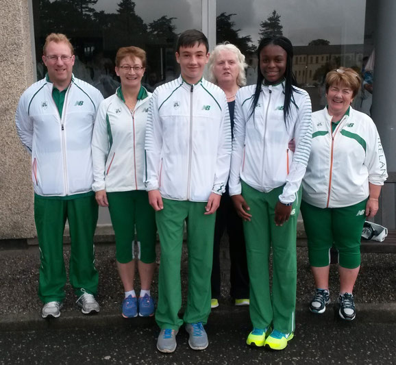 Louth contingent at 2015 Celtic Games