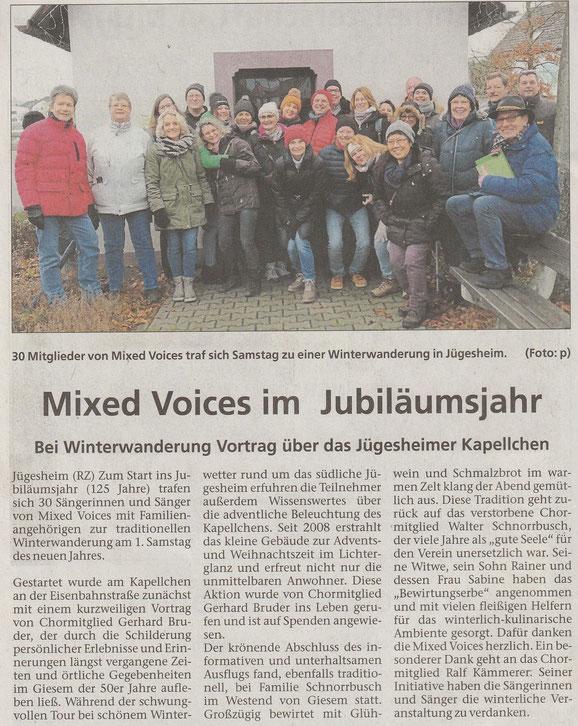 aus der Rodgau Zeitung vom 23.01.2020