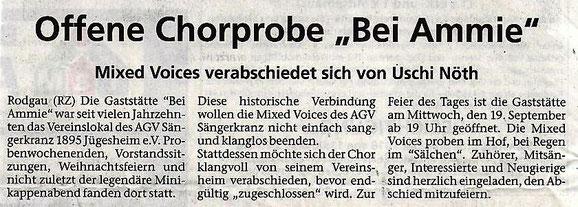 aus der Rodgau-Zeitung vom 06.09.2018