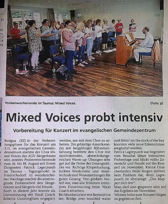 aus der Rodgau-Zeitung vom 28.08.2019