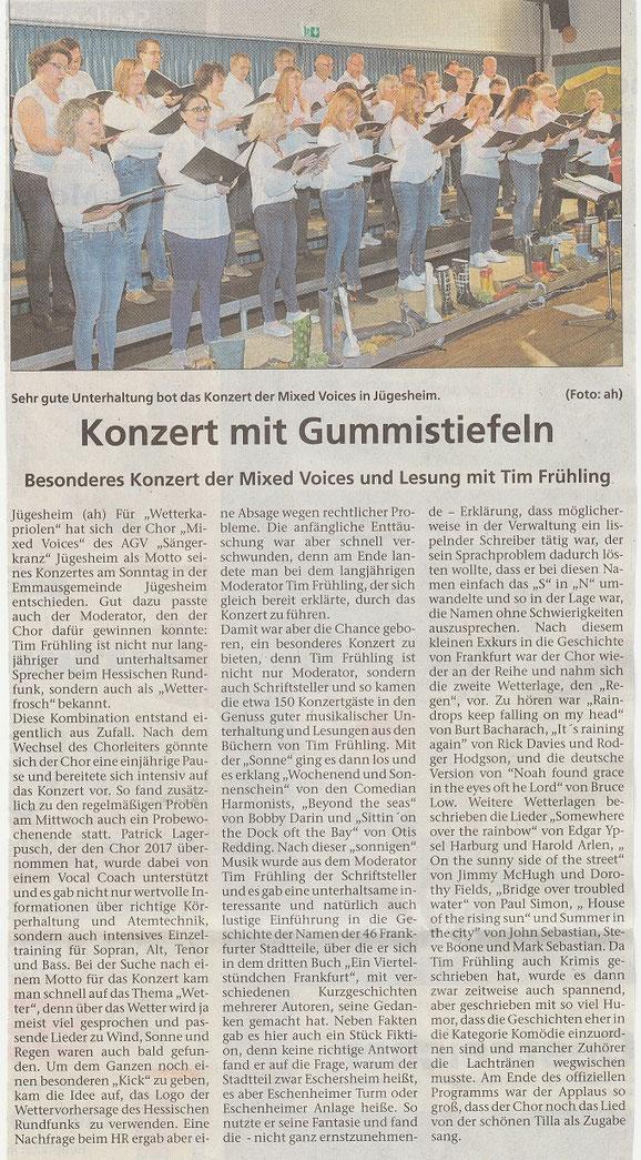 aus der Rodgau Zeitung vom 07.11.2019