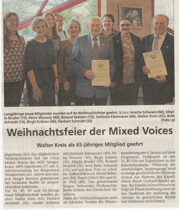aus der Rodgau Zeitung vom 19.12.2019