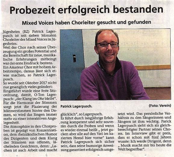 aus der Rodgau-Zeitung vom 17.05.2018