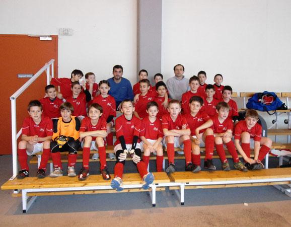 Les 3 équipes U11 engagées en FUTSAL