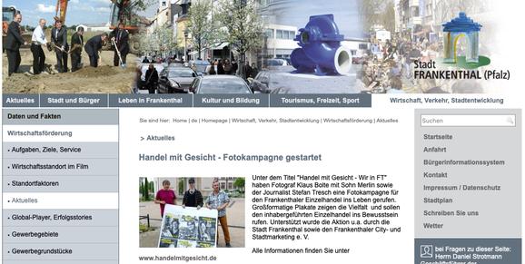 Internet Stadt Frankenthal, 01.06.2020